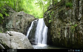 Screenshot of Real Water Fall Live Wallpaper