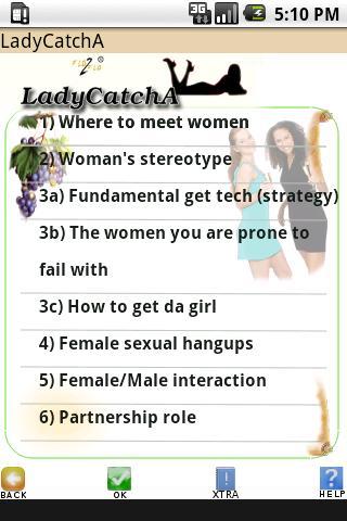 LadyCatchALite How to Seduce