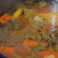 Roasted Vegetable Stock