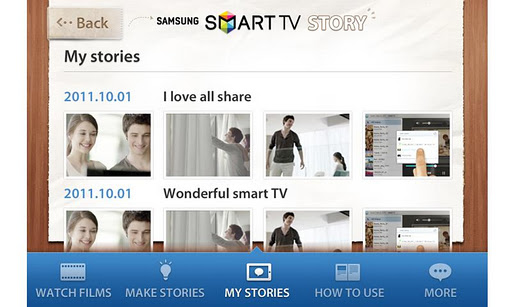 【免費娛樂App】SAMSUNG SMART TV STORY APP-APP點子