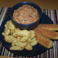 Spicy Black-Eyed Pea Dip