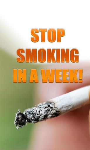 Stop Smoking In A Week