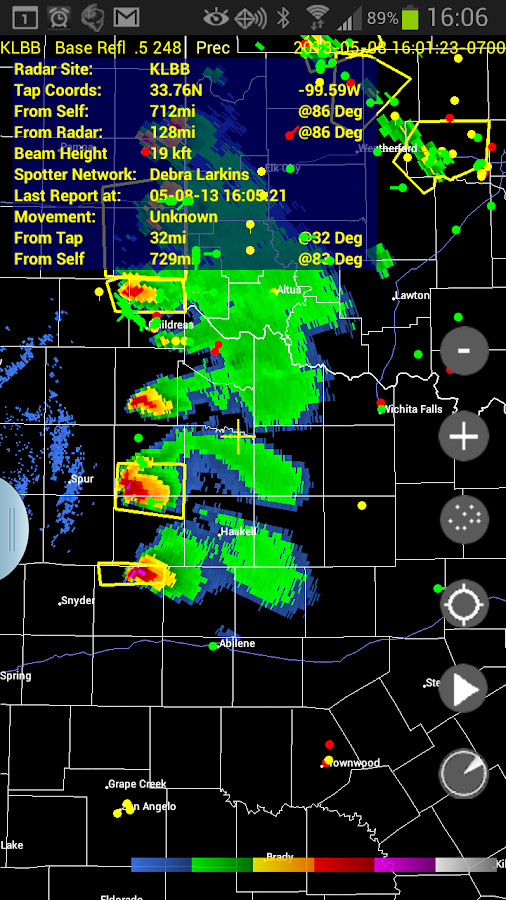 Radar Alive Pro Weather Radar Screenshot 0