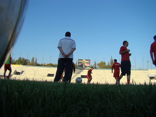 صور تمرين المنتخب في العباسيين تاريخ 13/8/2008