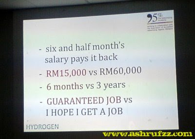 95 percent Advertising Agency Hydrogen program