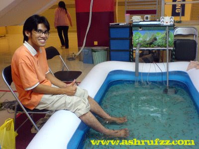 Trying Out The Soft Fish Spa