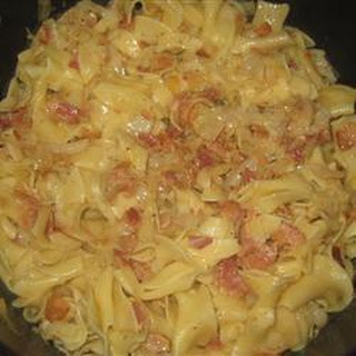 Cabbage Onions Bacon Egg Noodles Recipes