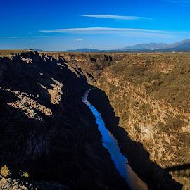 Rio Grande Gorge Bridge by Jeremy Elliott - Landscapes Waterscapes (  )
