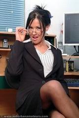 sexy secretary secretaria linda