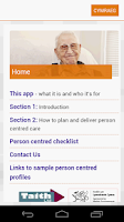 Screenshot of Dementia care