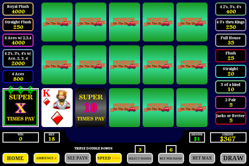 Super Times Pay Poker - screenshot