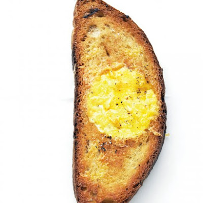 Scrambled Egg in the Hole
