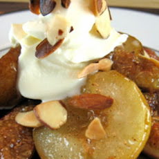 Roasted Spiced Pears and Figs with Almonds