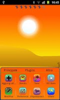 Screenshot of Summer of Four Seasons theme