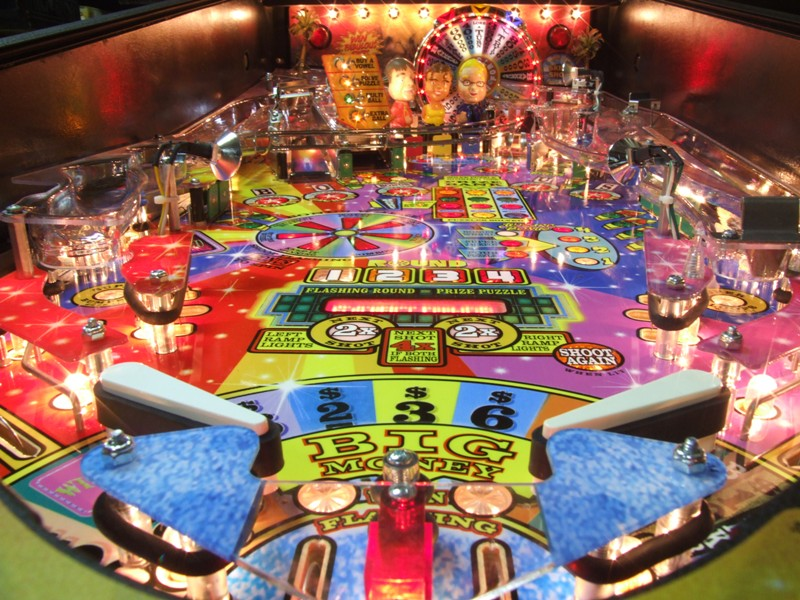 centered pinball playfield picture