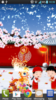 Screenshot of Happy Horse New Year Free LWP