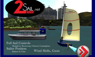 Screenshot of 3d Sailing Simulator, 2sail