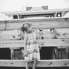 by Chrystal Olivero - Babies & Children Children Candids ( black and white, children, candid, kids, portrait )