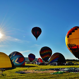 Up ,Up And Away  by Rhonda Rossi - Transportation Other (  )