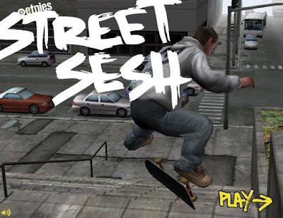 [Game]辦公室裡也能玩街頭滑板!