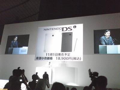 "[NDS]任天堂正式公開新版DS""DSi""!11/1日本開賣!"