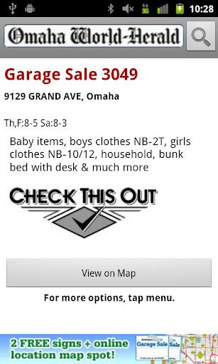 【免費購物App】Omaha Garage Sales-APP點子