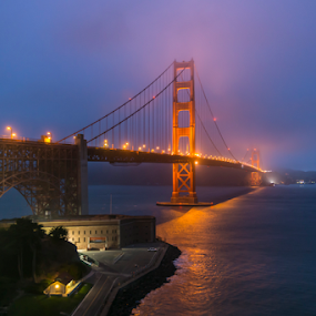 Golden Gate by Andy Chow - Buildings & Architecture Bridges & Suspended Structures ( golden gate, bridge, san francisco )