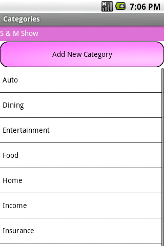 Simple Check Register
