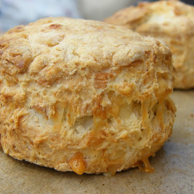 Yoghurt Scones with a Trio of Cheeses