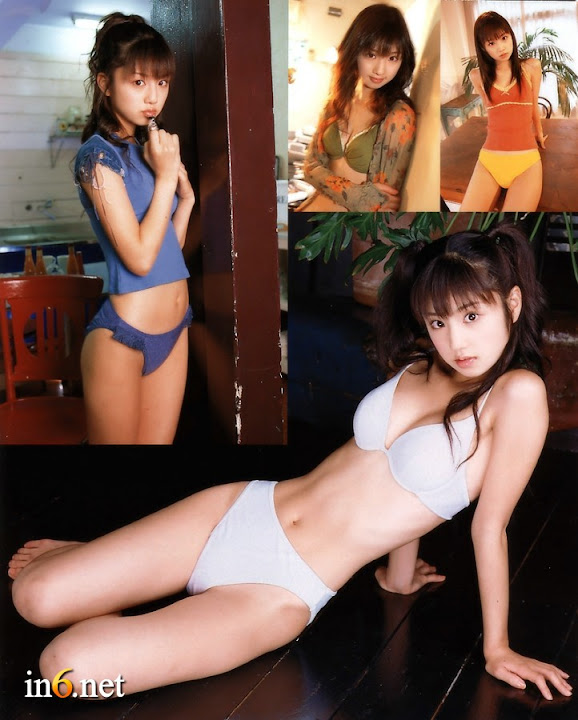 hot sexy bikini girl album: Yuko Ogura Japanese girl