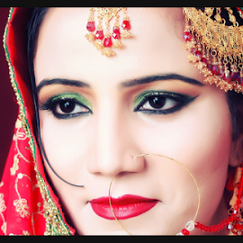 2012 Bridal Session by Muhammad Habib Ul Haque - Wedding Bride ( wedding photography, tone, bridal, wedding, wedding dress, explored, bride, portrait, eyes )