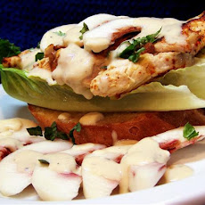 Peachy Southern Chicken Salad