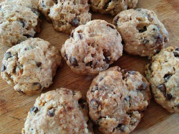 Skinny Oatmeal Chocolate Chip Coconut Cookies (clean Eats/vegan ...
