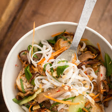 Vietnamese Rice Noodle Salad Bowl