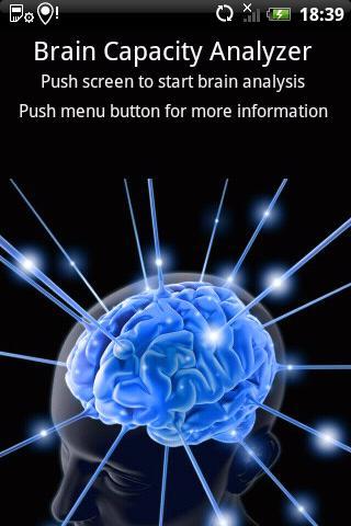 Brain Capacity Analysis