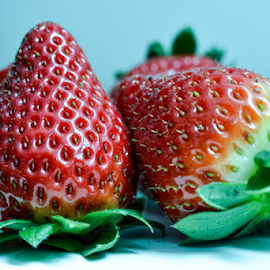 strawberry by Srečko Prša - Food & Drink Fruits & Vegetables ( fruit, red, food, fruits, fine art, strawberry )