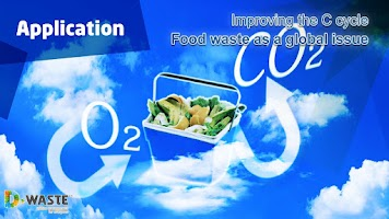 Screenshot of Food waste and carbon cycle