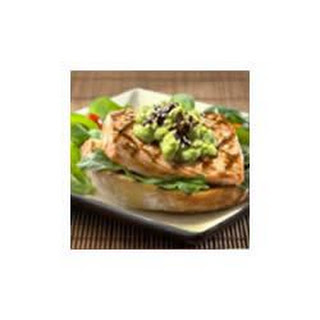 Asian Avocado Aioli with Salmon Fillets