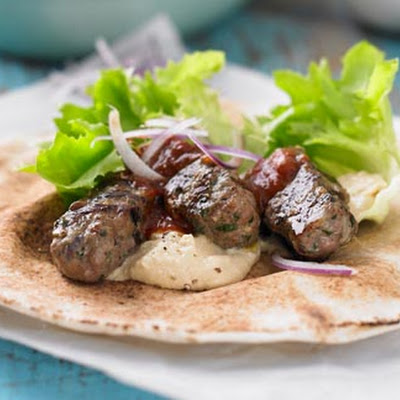 Lamb Kofte Flatbreads