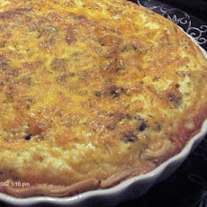Sun-Dried Tomato and Olive Quiche