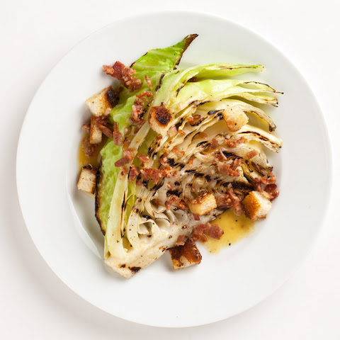Grilled Cabbage with Bacon