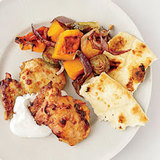 Curried-Chicken and Vegetable Pan Roast