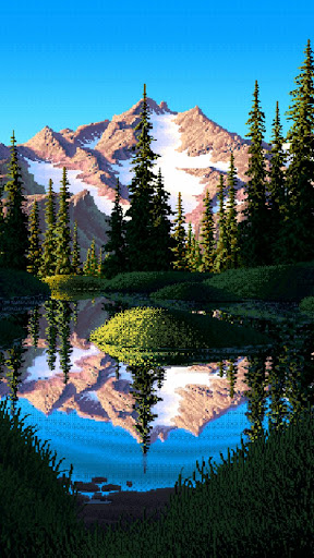 Live Wallpaper - Mirror Pond