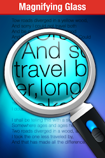 App Magnifying Glass + Flashlight APK for Kindle