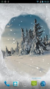 Snow Live Wallpaper - screenshot