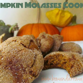 Vegan Pumpkin Molasses Cookies