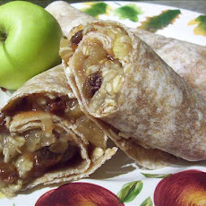 Apple Jack Breakfast Wraps