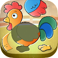 Free Download Toddler Kids puzzle - Animals APK for Blackberry