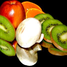 fruitts with a mushroom by LADOCKi Elvira - Food & Drink Fruits & Vegetables