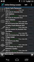 Screenshot of Dining Program Locator